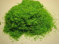 Кольорові ошурки  .Крупні  зелені 20 грам