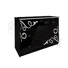 Спальня Богема (черный глянец), фото 3