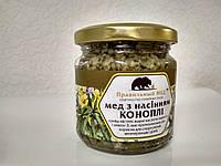 Мёд с семенами конопли