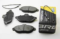 Колодки тормозные передние на Джампи Скудо Эксперт (Jumpy Scudo Expert ), BREMSI BP2678