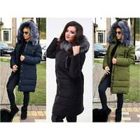 Куртка женская мод.868 ХЛ+ 52-54/темно-синий, фото 1