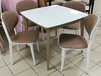 """Стол и стулья """"Сицилия"""" из массива ясень"""