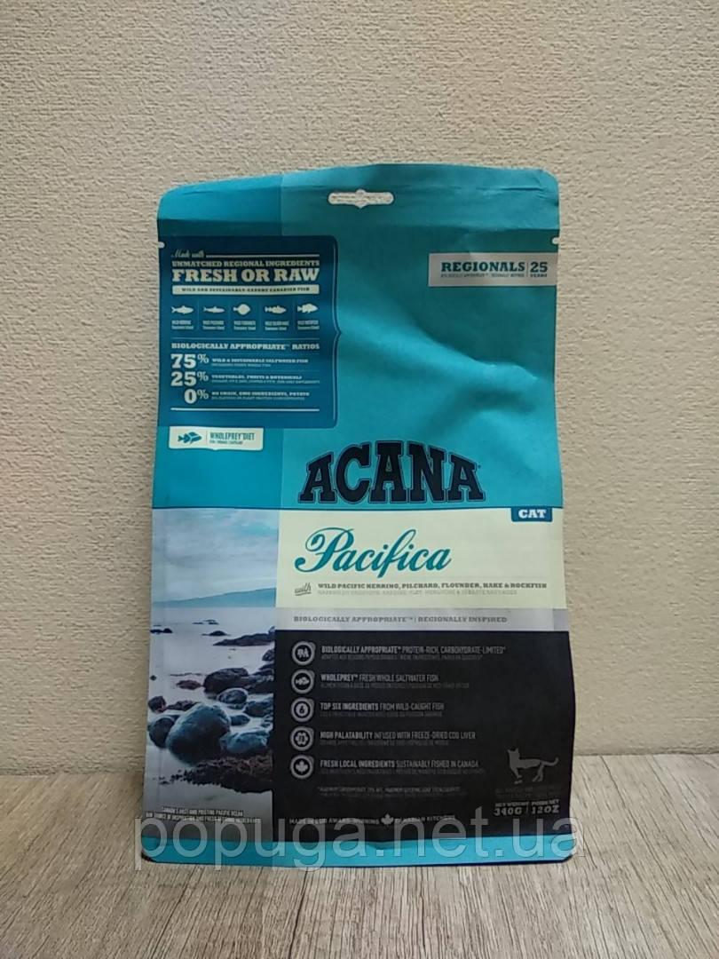 Корм Acana Pacifica for Cats для котят и кошек с рыбой, 340 г