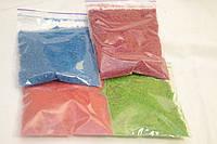 Кольорові ошурки  для об'ємної аплікації 4 кольори по 20 грам