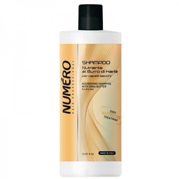 Шампунь для волос питательный на основе масла карите Brelil Numero 1000ml
