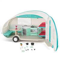 Транспорт для кукол LORI Кемпер на колесах бирюзовый LO37001