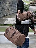 Рюкзак-сумка Youmian 45*28*28 коричневий, фото 3