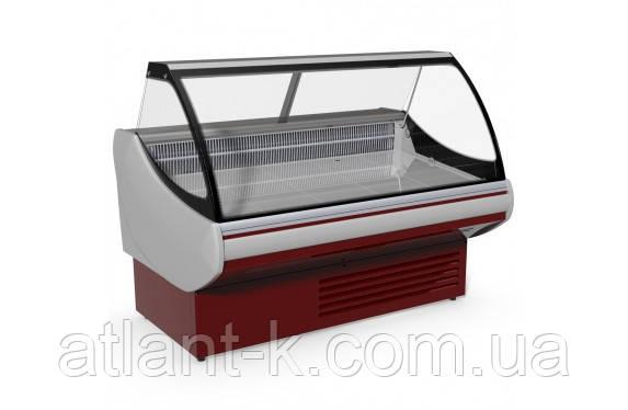 Витрина холодильная JUKA SGL 190 комбинированная, Выкладка 740 мм