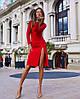 Изумительное облегающее платье  с вырезом на спине и спереди