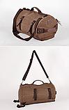 Рюкзак-сумка Youmian 45*28*28 коричневий, фото 5