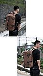 Рюкзак-сумка Youmian 45*28*28 коричневий, фото 6
