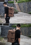 Рюкзак-сумка Youmian 45*28*28 коричневий, фото 7