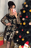 Шикарное платье настоящий шедевр расцветки арт-0407,  db-1218.001