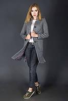 Пальто Bebless Стрела 44 Серый, фото 1