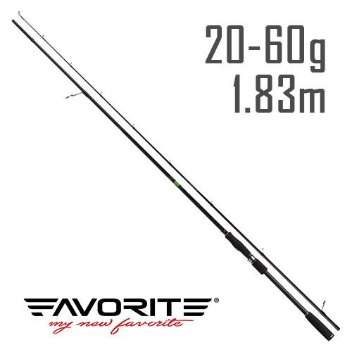 Спиннинг Favorite X1 X1-602ExH 1.83m 20-60g Ex-Fast