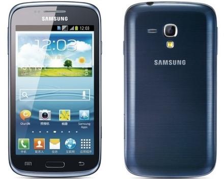 Корпус для смартфону Samsung I8260 Galaxy Core, I8262 Galaxy Core, синій
