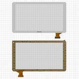 "Сенсорний екран Tablet PC 10.1"" Bravis NB105 3G; Assistant AP-115G Freedom; Jeka JK-103 3G 146x255mm 50pin, білий"