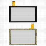 "Сенсорний екран Tablet PC 10.1"" Bravis NP101 146x252mm 50pin, чорний #DH-1035A1-PG-FPC129 /FM103301KA/YJ144FPC-V1/CZY6811B01-FPC"