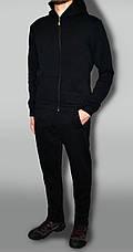 Спортивный костюм, теплый, классический, без эмблемы (Зима) трехнитка на флисе, фото 2