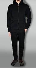 Спортивный костюм, теплый, классический, без эмблемы (Зима) трехнитка на флисе, фото 3