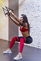 Топ женский спортивный красный, фото 1