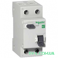 Дифавтомат 10A 30mA 4,5kA 2 полюса тип C тип AC EZ9D34610 Easy9 Schneider Electric