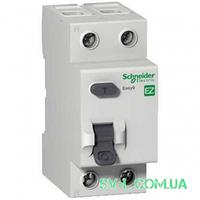 УЗО 25A 30mA 4,5kA тип AC 2 полюса EZ9R34225 Easy9 Schneider Electric