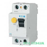 УЗО 40A 30mA 4,5kA тип AC 2 полюса PF4-40/2/003 Eaton (Moeller)
