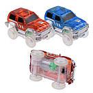 Детский конструктор Magic Tracks (Меджик Трэкс) 360 деталей / Гоночная трасса с двумя машинками, фото 5