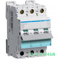 Автоматический выключатель 25A 25kA 3 полюса тип C NRN325 Hager