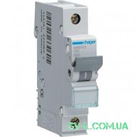 Автоматический выключатель 63A 15kA 1 полюс тип C NRN163 Hager