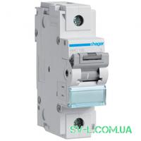Автоматический выключатель 125A 10кА 1 полюс тип C HLF199S Hager