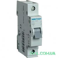Автоматический выключатель 13A 6кА 1 полюс тип B MB113A Hager