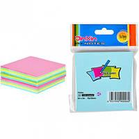 """Бумага для заметок """"стик"""" 76*76мм 100 листов  Цветной"""