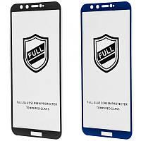Защитное стекло Full Glue HQ Honor 9 Lite (2 цвета)