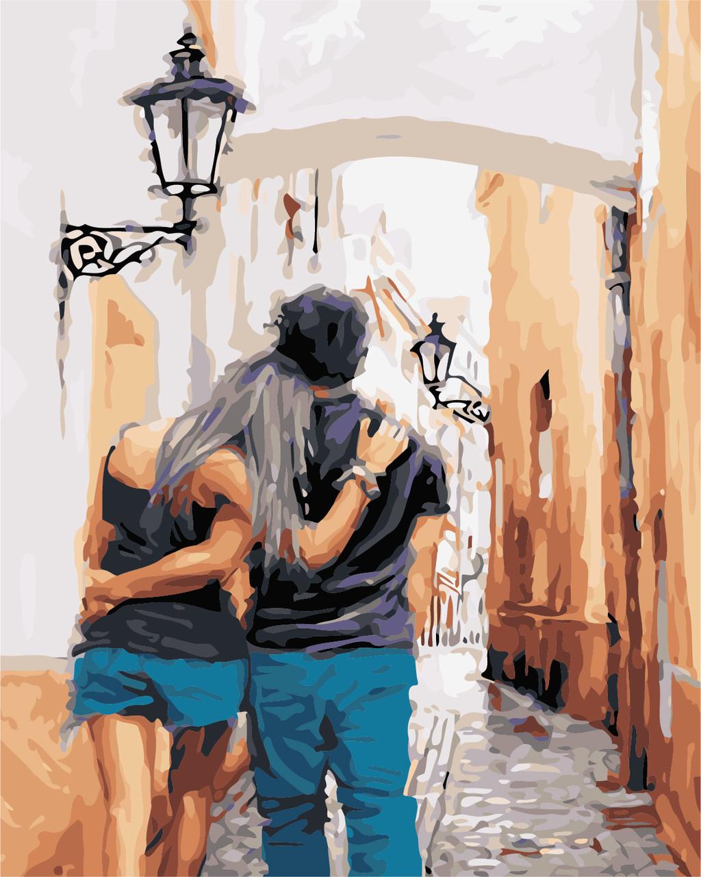 Художественный творческий набор, картина по номерам Прогулка (Richard Macneil), 40x50 см, «Art Story» (AS0429)
