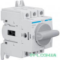 Выключатель нагрузки поворотный 3 полюса 400/690V 20А 2,5м HAB302 Hager