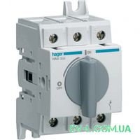 Выключатель нагрузки поворотный 3 полюса 400/690V 40А 2,5м HAB304 Hager