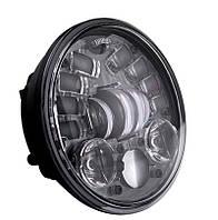 Мото фара LED 5,75 дюймів DL-J557-C (Black) Harley-Davidson, Dyna, Sportster, 883, Street