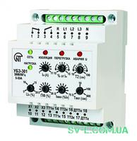 Реле защиты электродвигателей 5-50A УБЗ-301 Новатек