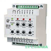 Реле защиты электродвигателей 10-100A УБЗ-301 Новатек