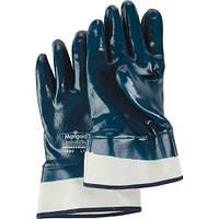 Перчатки нитриловые рабочие  МБС Marigold Ansell NitroTough N660 твердый манжет