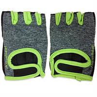 Защитные перчатки для активного отдыха (велосипед, самокат) Размер M - перчатки Airwheel зеленые