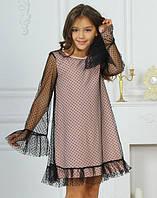 Нарядное платье для девочки 5 - 12 лет