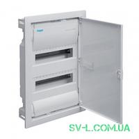 Щит распределительный VU24UA вмонтированный IP30 24 мод. (2x12) Volta Hager