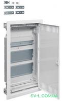 Щит для мультимедиа и связи (слаботочный) VU36NWB вмонтированный 3-рядный VOLTA Hager