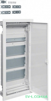 Щит для мультимедиа и связи (слаботочный) VU48NWB вмонтированный 4-рядный VOLTA Hager