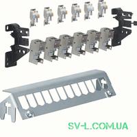 Патч-панель FZ12MM 12-кратная с модулями 6xRJ45 и держателем VOLTA Hager