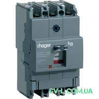 Силовой автоматический выключатель 160А 18kA 3 полюса HDA160L x160 Hager