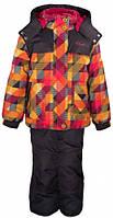 Комплект зимний (куртка + полукомбинезон) для девочки GWG, Gusti Boutique, оранжевый